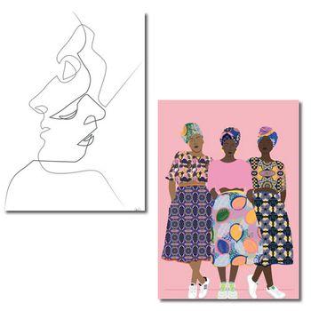 Postkarten A6 +++ MIX SET Nr. 4 +++ 10 Motive von JUNIQE -MIX4 – Bild 5