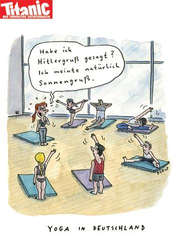 yoga sprüche lustig