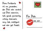 Postkarte A6 +++ LUSTIG +++ FÜR DICH VON MIR