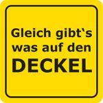 Bierdeckel 15 Stück +++ LUSTIG +++ GLEICH GIBT´S WAS AUF DEN DECKEL - VERBOTENE BIERD