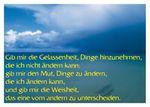 Postkarte A6 +++ LUSTIG +++ GIB MIR DIE GELASSENHEIT ...