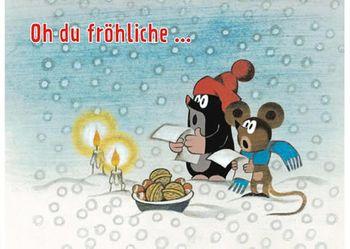 Postkarte A6 +++ WEIHNACHTEN +++ OH DU FRÖHLICHE