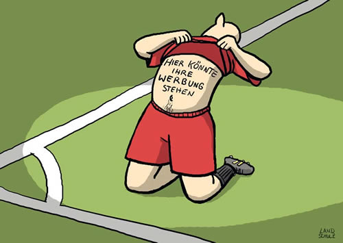 Fußball Lustig Cartoon
