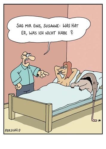 Postkarten online shop lustig spr che mann frau b ro cartoon - Morgenlatte lustig ...