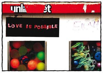 Postkarte A6 +++ STREET ART +++ JEDERMANNS SEHNSUCHT