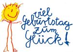 Postkarte A6 +++ LUSTIG +++ VIEL GEBURTSTAG ZUM GLÜCK