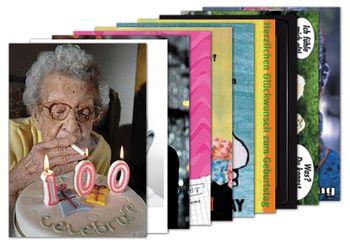 10er-Set: Postkarten A6 +++ MIX SET Nr. 1 +++ 10 lustige GEBURTSTAGS-Motive – Bild 1