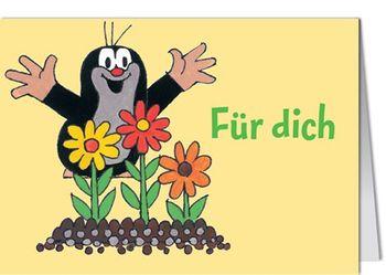 Grußkarte MINI +++ DER KLEINE MAULWURF +++ MW FÜR DICH