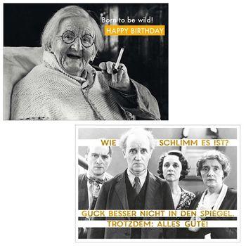 10er-Set: Postkarten A6 +++ MIX SET Nr. 2 +++ 10 lustige GEBURTSTAGS-Motive – Bild 5
