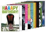 10er-Set: Postkarten A6 +++ MIX SET Nr. 2 +++ 10 lustige GEBURTSTAGS-Motive