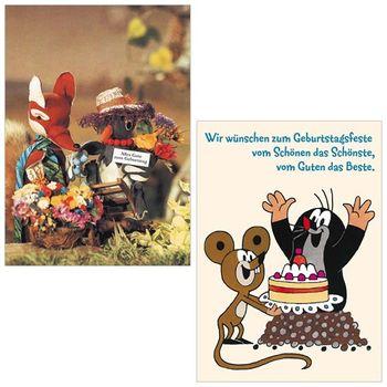 10er-Set: Postkarten A6 +++ MIX SET Nr. 2 +++ 10 KINDERGEBURTSTAG-Motive – Bild 5