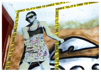 Postkarte A6 +++ LUSTIG +++ TIME TO DANCE