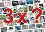 3er-Set: Postkarten A6 +++ MIX SET Nr. 1 +++ TOP für POSTCROSSING: 3 INTERNATIONALE Motive