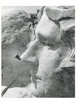 Postkarte A6 +++ SCHWARZ-WEISS +++ FEARLESS FACE-SAVER - C. 1960