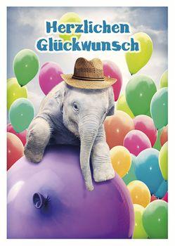 Postkarte A6 +++ LUSTIG +++ GLÜCKWUNSCH