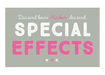 Magnet 8,5x5,5 cm +++ LUSTIG +++ SPECIAL EFFECTS