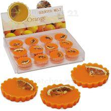 Duftwachs Orange 6 Stück Wachspads für Duftlampen intensiver Duft