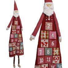 Adventskalender zum Befüllen XXL ca. 180 cm wunderschöner Weihnachtsmann 001