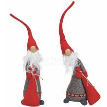 Weihnachtswichtel Wichtel Deko Figuren 41 cm wunderschöne Weihnachtsdeko 2 Stk. 001