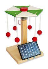 Karussell Modell mit Solarantrieb Bausatz Kinder Werkset Bastelset ab 12 Jahren 001