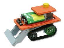 Pistenraupe mit Elektroantrieb Bausatz Kinder Werkset Bastelset - ab 13 Jahren 001