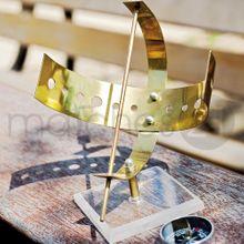 Metall Sonnenuhr m. Acrylständer Bausatz Kinder Werkset Bastelset ab 13 J. 001