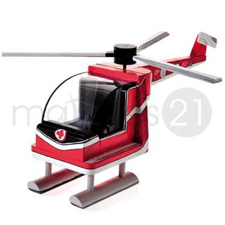 Helikopter Bausatz f. Kinder Werkset Bastelset ab 11 Jahren