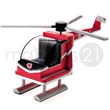 Helikopter Bausatz f. Kinder Werkset Bastelset ab 11 Jahren 001