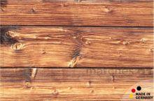 Fußmatte Fußabstreifer Holzbrett 44x67x0,5cm extra flach waschbar