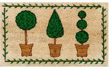 Fußmatte Fußabstreifer Kokos Buchsbäume 45x75x1,5cm