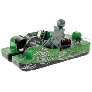 Tretboot Tret-Boot Elektrogetriebe Kinder Bausatz Werkset Bastelset ab 12 J.