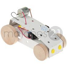 Elektrofahrzeug Auto Riemenantrieb Karton Bausatz Werkset