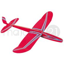 Mini Holli Flugzeug Segler 290 mm Karton Kinder Bausatz Werkset Bastelset ab 10 J.