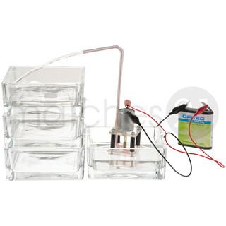 Funktionsmodell Wasserpumpe 4,2x4,2x8 cm Kinder Bausatz Werkset Bastelset ab 13 J.