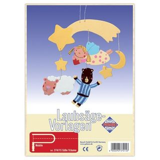 Süße Träume Mobile Laubsägevorlage Kinder Holz Laubsäge Vorlage Aussägen