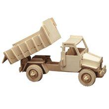 Kipplader 3D Holz Steckbausatz Bausatz / Kinder Bastelset ab 8 Jahren
