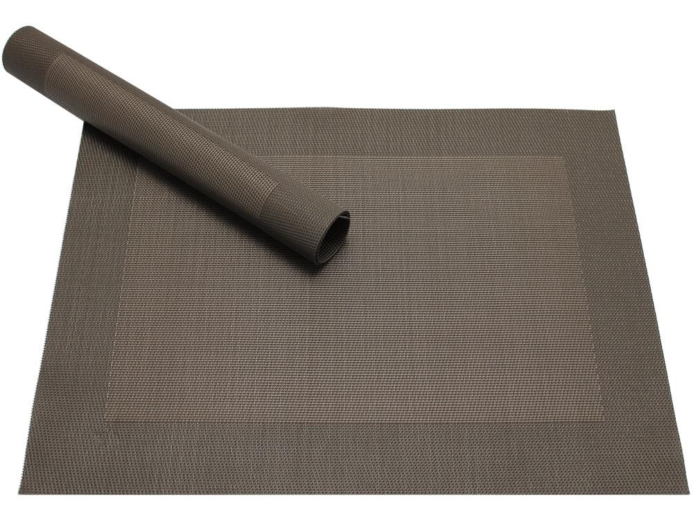 tischset platzset borda b ware braun dunkelbraun 1 stk kunststoff gewebt abwaschbar kaufen. Black Bedroom Furniture Sets. Home Design Ideas