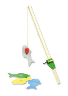 Magnetangel Holz Angel mit Magnet 50cm Bastelset Kinder Lernspiel - ab 9 Jahren