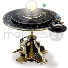 Kopernikus Planetensystem Planetarium Astronomie LED Modell Bausatz Karton