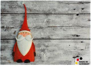 Fußmatte Fußabstreifer ESSENCE Weihnachten & Nikolaus 50x70x0,5 cm waschbar