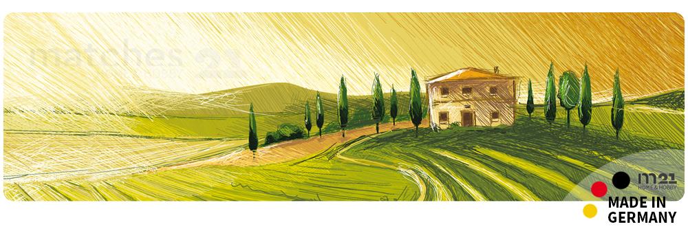 k chenl ufer teppichl ufer mediterrane landschaft 50x180 cm waschbar kaufen matches21. Black Bedroom Furniture Sets. Home Design Ideas