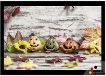 Fußmatte Fußabstreifer ESSENCE Halloween Kürbisse Laub 40x60x0,5cm waschbar