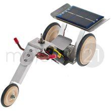 Solar Trike mit Elektromotor und Solarzelle Bausatz Bastelset f. Kinder ab 14 J.