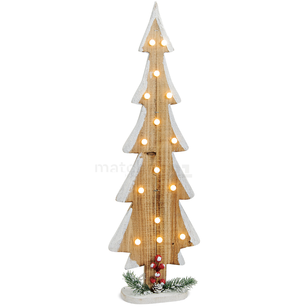 tannenbaum aus holz 15 leds lichter weihnachtsdeko mit beleuchtung 70 cm kaufen matches21. Black Bedroom Furniture Sets. Home Design Ideas