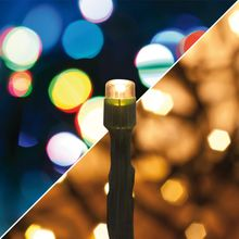 Außenbereich LED Mini Lichterkette 40-flammig Multicolor / Farbwechsel / 220V
