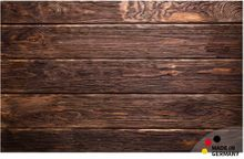 Teppichläufer Küchenläufer dunkles Holz Bretter Holzbretter 50x80 cm waschbar