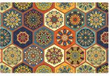 Tischsets Platzsets Orientalisch MOTIV bunte Mosaik Fliesen 1 Stk. abwaschbar