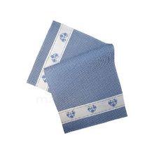 Tischläufer Mitteldecke Tischwäsche Landhaus blau weiß kariert & Herz 35x70 cm