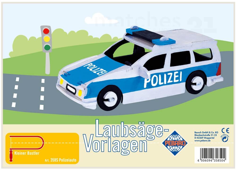 Polizeiauto Zum Selberbasteln Unna 1
