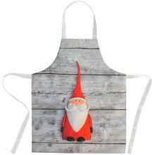 Schürze Küchenschürze Latzschürze Nikolaus Weihnachten Einheitsgröße 80x70 cm
